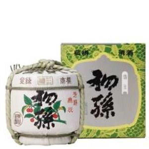 画像1: 初孫 本撰こも樽(本醸造) 1800ml(1升) (1)